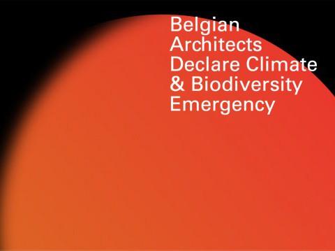 Belgian Architects Declare Climate & Biodiversity Emergency.